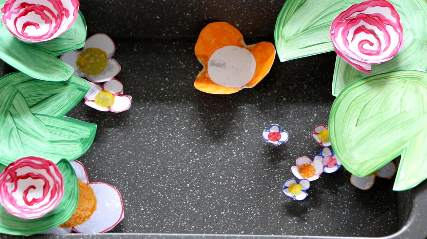 Experience Facile Pour Enfant Les Fleurs Dans L Eau Kreakids